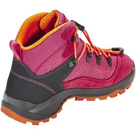 High Colorado Vilan Mid High Tex Wanderschuhe Kinder pink-rosa
